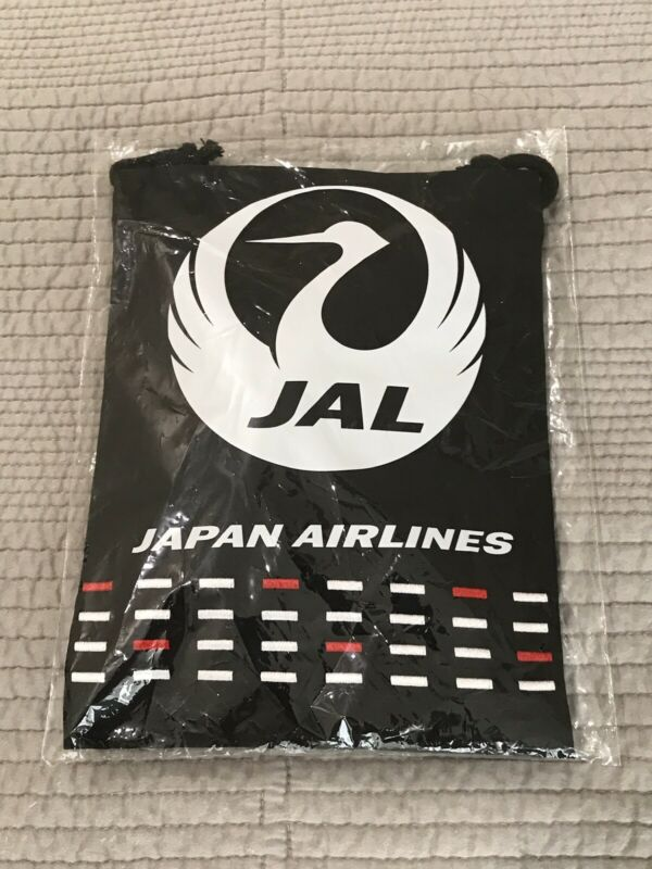 NEW Japan Airlines JAL Business Class Amenity Kit - perfect iPad protective case