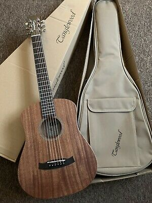 Left Hand / Handed Travel Acoustic Guitar in All Mahogany 3/4 size RRP £220