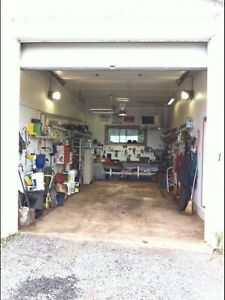 Large Garage bay for rent. Heated, air compressor. Herring Cove