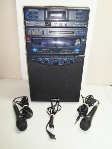 VocoPro DVD Duet Karaoke System Bundle with 2 Microphones No Remote