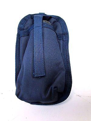 2X Cowboy Brand Navy Blue Snap on Water Bottle Holder Horse Tack Equine 248380