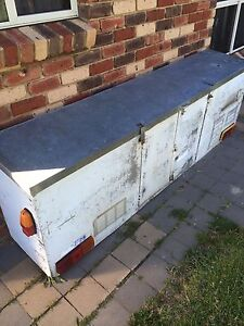 Toolbox. BIG tool box.  REDUCED Only $120, WAS $150  & a FREE bracket Launceston Launceston Area Preview