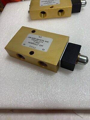 Air-mite V3312 3-way Control Valve Ball Cam 38 Ports New