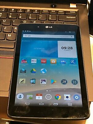 LG G Pad V410 16GB Wi-Fi GSM AT&T Unlocked 7 Inch Gray Tablet Works Great