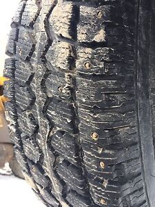 Four  225/70/16 winter studded tires great shape!!!
