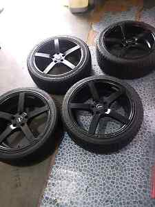 SSW wheels 5x114.3 19x8.5 Blacktown Blacktown Area Preview