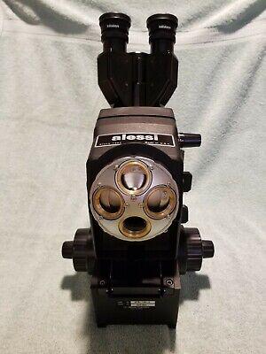 Mitutoyo Microscope With 10x Wf Eye Pieces With Mitu Polarizer Set