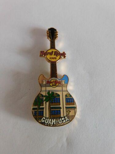 Hard Rock Cafe GUAM USA 2004 - Facade Front HRC Building Guitar Series Pin
