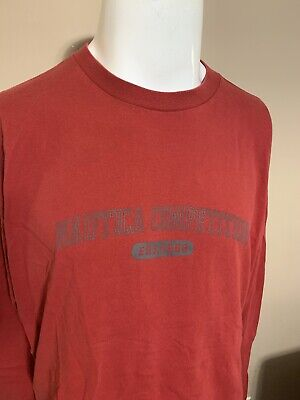 Nike Pro Competition Base Layer Mens Sleeve Sports Burgundy Blue 375891 S