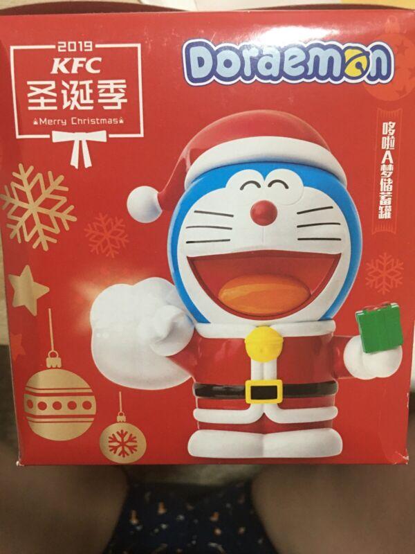 Doraemon KFC Christmas Coin Bank