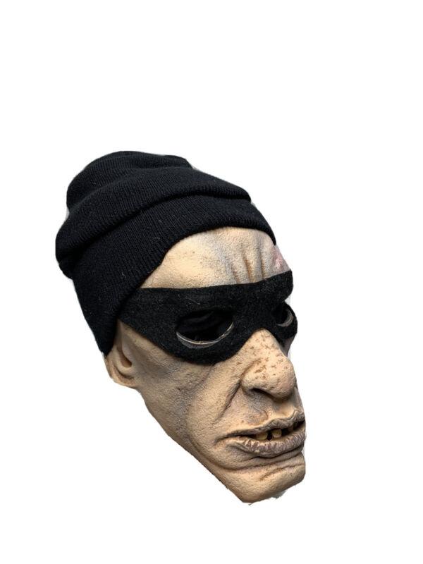 Vintage Be Something Studios THUG Halloween Latex Mask B.S.S Criminal 1981/80