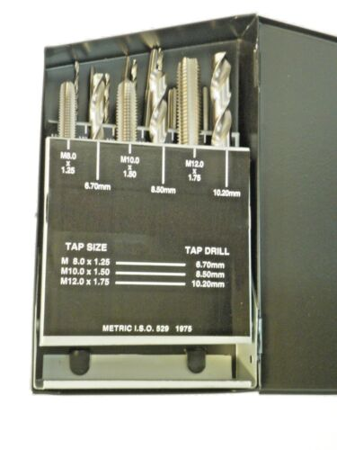18 PC. TAP & DRILL SET METRIC #01-800-101 ***NEW***