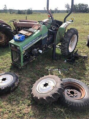 Massey Ferguson Mf-1030 Deutz 5220 Tractor Transaxle Assembly