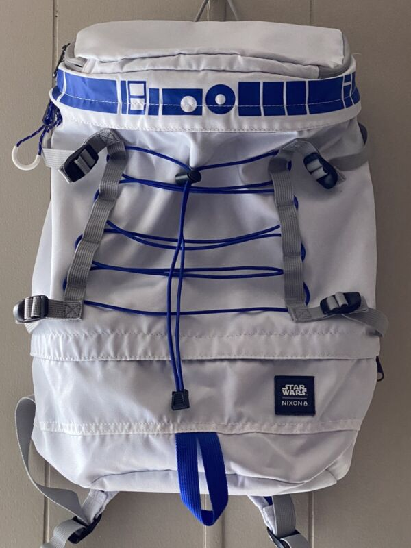 Limited Edition Nixon Star Wars Backpack Bookbag R2-D2 Robot RARE Ex. Condition