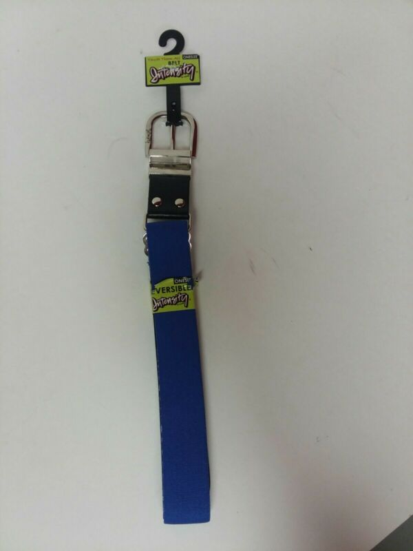 Intensify By Soffe Touch Them All Reversible softball  Belt Blu/ Blk womens
