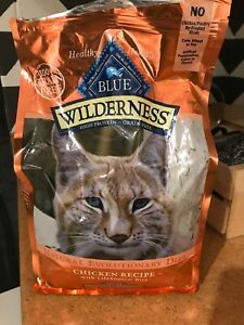 Blue wilderness chicken adult cat food