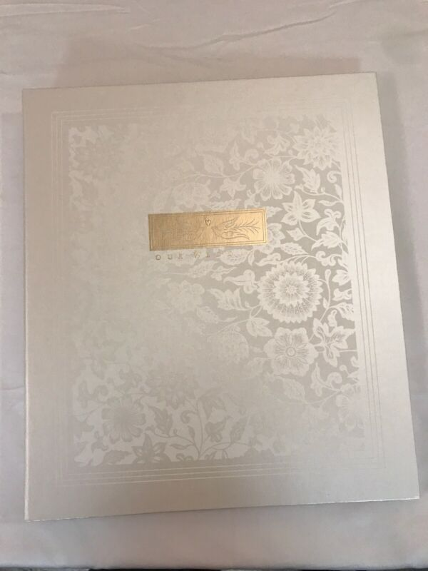 Hallmark Stories Photo Album Wedding With 8 Pages