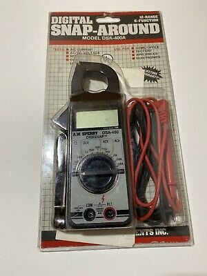 A.w. Sperry Instruments Digital Snap-around Volt-ohm-ammeter Dsa-400a