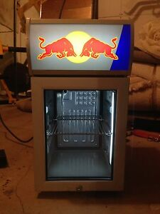 Red Bull bar fridge