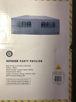 Outdoor party pavilion.