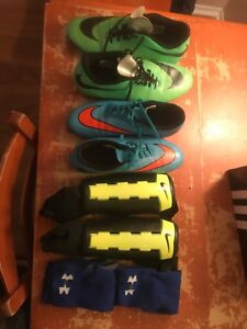 Soccer cleats and gear for sale