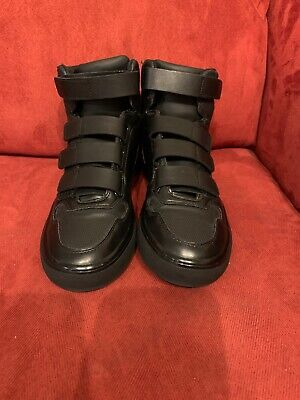 Zara Man High Top Shoes Black Size 40 EU Us Size 7/7.5