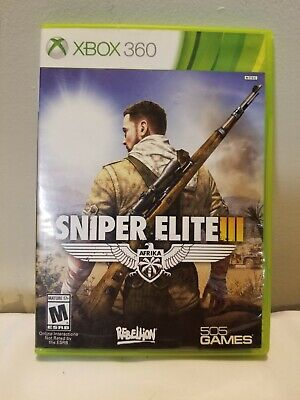 Sniper Elite III 3 Three (Microsoft Xbox 360, 2014) Pre-owned Good,Manual , usado segunda mano  Embacar hacia Mexico