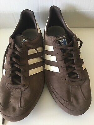 Adidas Rare Originals KEGLER SUPER BROWN SUEDE TRAINERS UK Size 11
