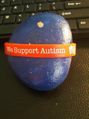 Red Autism Awareness Jewelry Silicone Bracelet Support the Cause Made In USA! (Cause Bracelets)