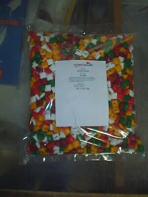 New bag of REAL FORD BRANDED CHICLET GUM 5 lbs BUY NOW No LIC. C@@L
