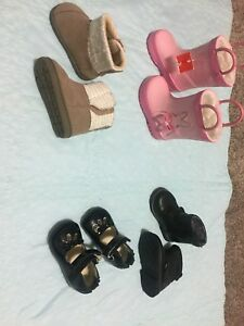 Size 3/4 toddler girl shoes/boots