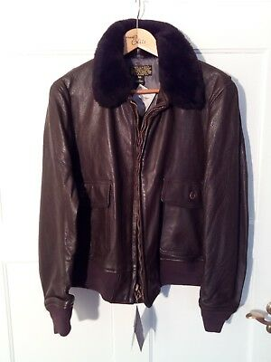 G-1 FLIGHT JACKET von Willis & Geiger, Gr. 46 NEU G1 Flight Jacket