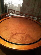 Art Deco - Maple - 10 seat round dining table Fitzroy North Yarra Area Preview