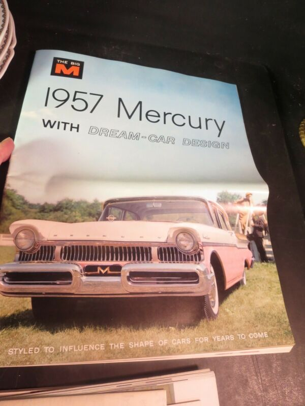 Original 1957 Mercury Monterey & Park Lane Montclair Brochure