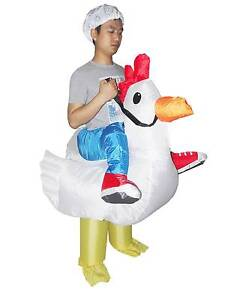 CHICKEN Fancy Dress Inflatable Suit -Fan Operated Costume Brisbane City Brisbane North West Preview