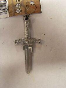 Sword 3D Kwikset House key blank, very cool!!
