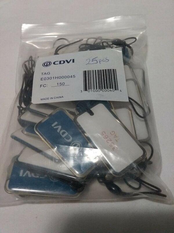 25Pc CDVI 35265 150 TAG Proximity Key Badge FC 180, E0301H000045, Skbawa-b125-jb