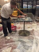 Deep Cleaning & Polishing of Marble & Natural Stone Restoration