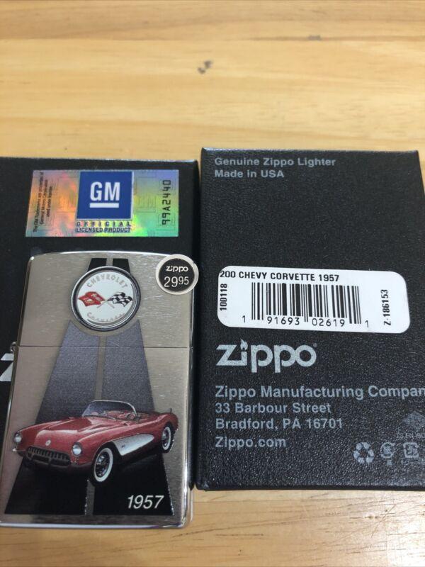 zippo lighter-1957 Chevy Corvette-2017