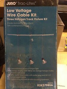 Juno low voltage wire cable kit