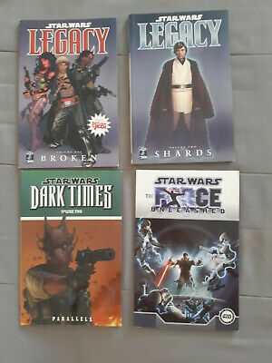 Star Wars Graphic Novel Omnibus Bundle; Legacy, Dark Times 2 and TFU