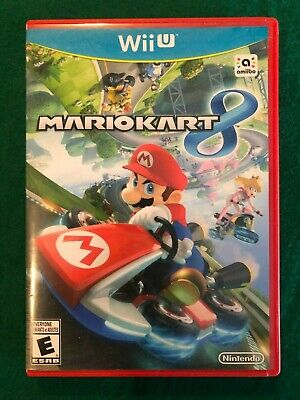 Mario Kart 8, Nintendo Wii U Game, Used, Tested and Working