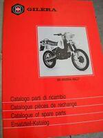 404369 Catalogo Parti Di Ricambio Gilera 250 Arizona Rally 1986 -  - ebay.it