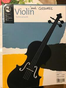 AMEB violin technical workbook O'Connor North Canberra Preview