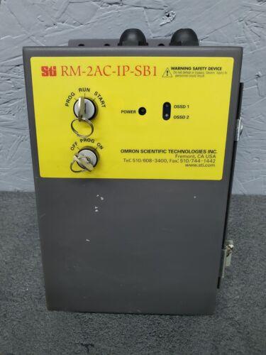STI RM-2AC-IP-SB1 100-240 VAC Safety Light Curtain Relay Module