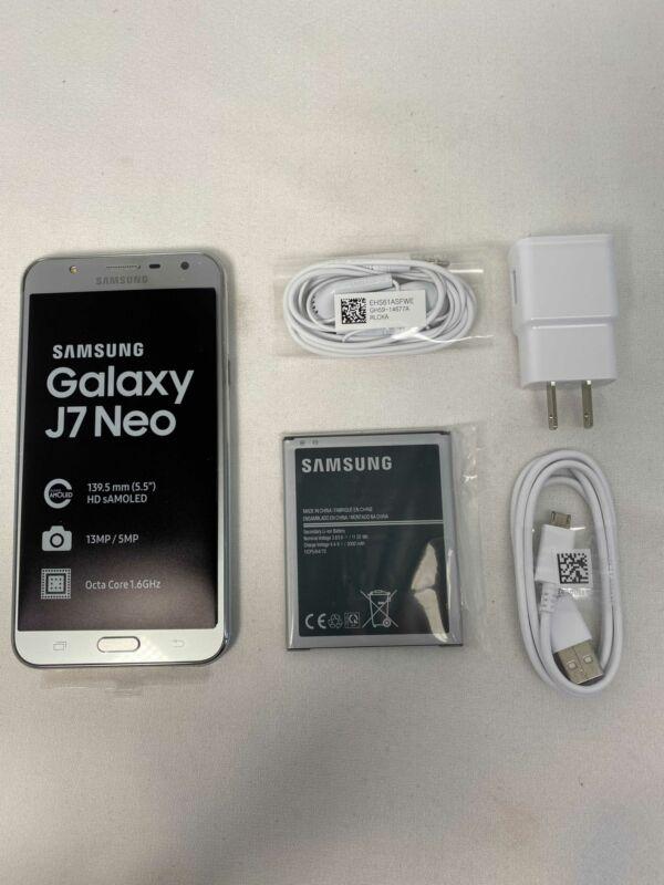 Unlocked Galaxy J7 Neo- Silver- SM-J701M