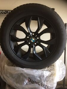 BMW X5 and X6 winter tires and rims