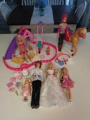 Barbie Bride- Horse- Puppy Sets & Extra Accessories Free Ship!