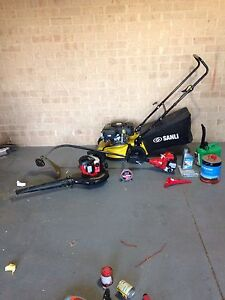 Petrol lawn mower, petrol whipper snippet,petrol blower Cannington Canning Area Preview