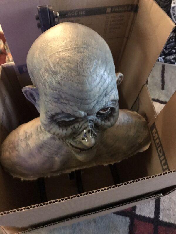 """Foam Filled Flexible Corpse Head   15 """" Shoulder Span 13"""" Head"""